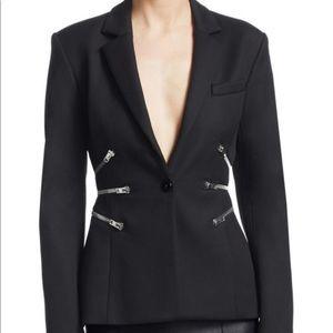 Jackets & Blazers - Alexander Wang zipper waist Blazer